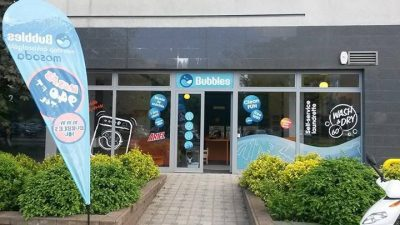 Bubbles-non-stop self-service laundry-IV. District Budapest