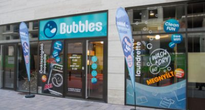 Bubbles-non-stop self-service laundry-XIII.District Budapest