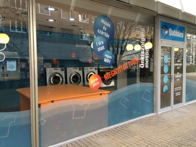 Bubbles-non-stop self-service laundry-III.District Budapest